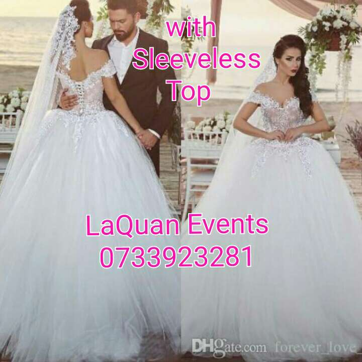 White Gown Hire