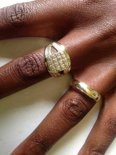 Gents Gold Wedding Band